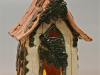 Fairy House with oak leaves